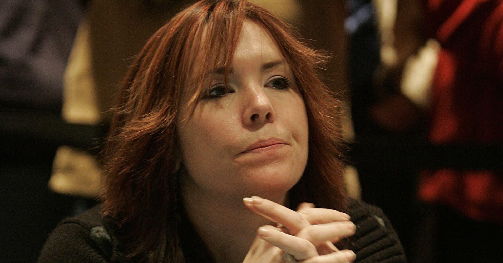 Annie Duke at the 2004 World Poker Finals