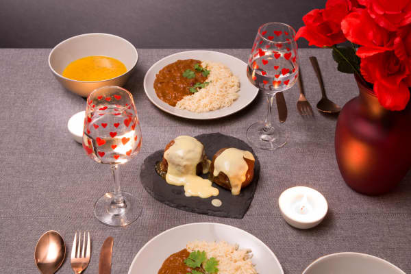 UK discount store Poundland is selling an inexpensive Valentine's meal