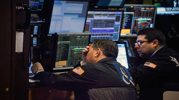 Dow plunges more than 800 points