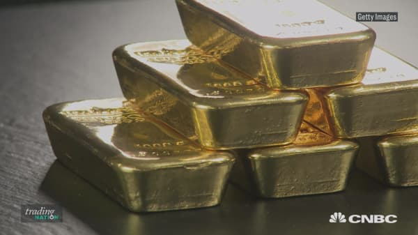 Here's why gold is not rallying as much as you would be expecting it to