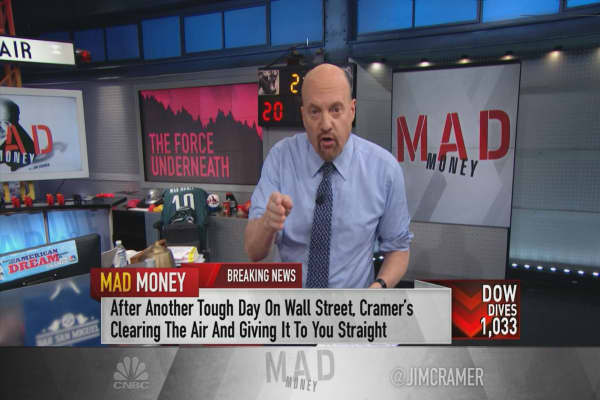 Cramer: The 4 VIX-related trading products that will signal the end of the sell-off