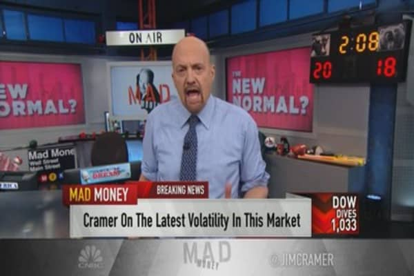 Cramer on rapid sell-off: 'When the market's not trustworthy, no one buys'