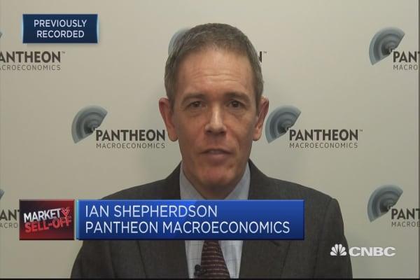 Not obvious that market has hit a flaw yet: Pantheon Macroeconomics