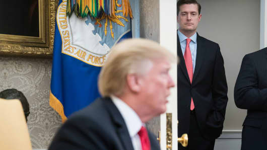Trump On Rob Porter's Resignation: 'We Wish Him Well'