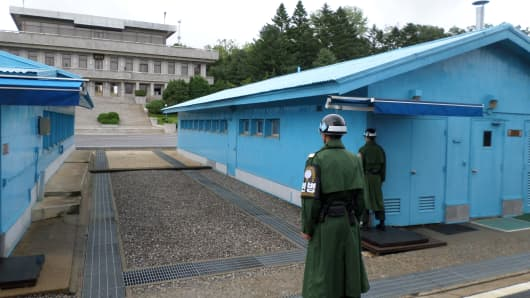 The Demilitarized Zone between North and South Korea, established as part of the 1953 Korean War armistice, remains the most heavily-fortified border in the world