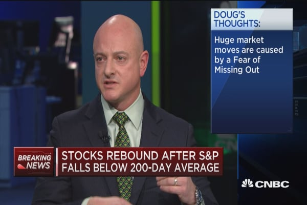 Dr. Doug: Markets are like life with ups and downs