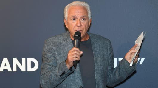 Fashion designer and co-founder of Guess? Inc. Paul Marciano.