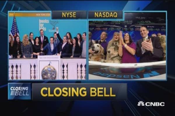 Closing Bell Ringer, February 9, 2018