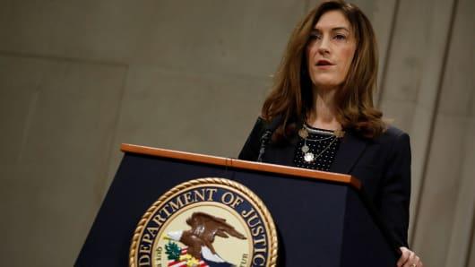 United States Associate Attorney General Rachel Brand.