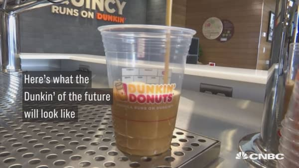 Here's what the Dunkin' of the future will look like