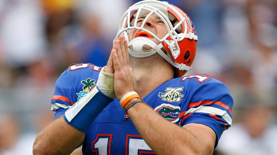 Why Tim Tebow says you should never be afraid to apologize