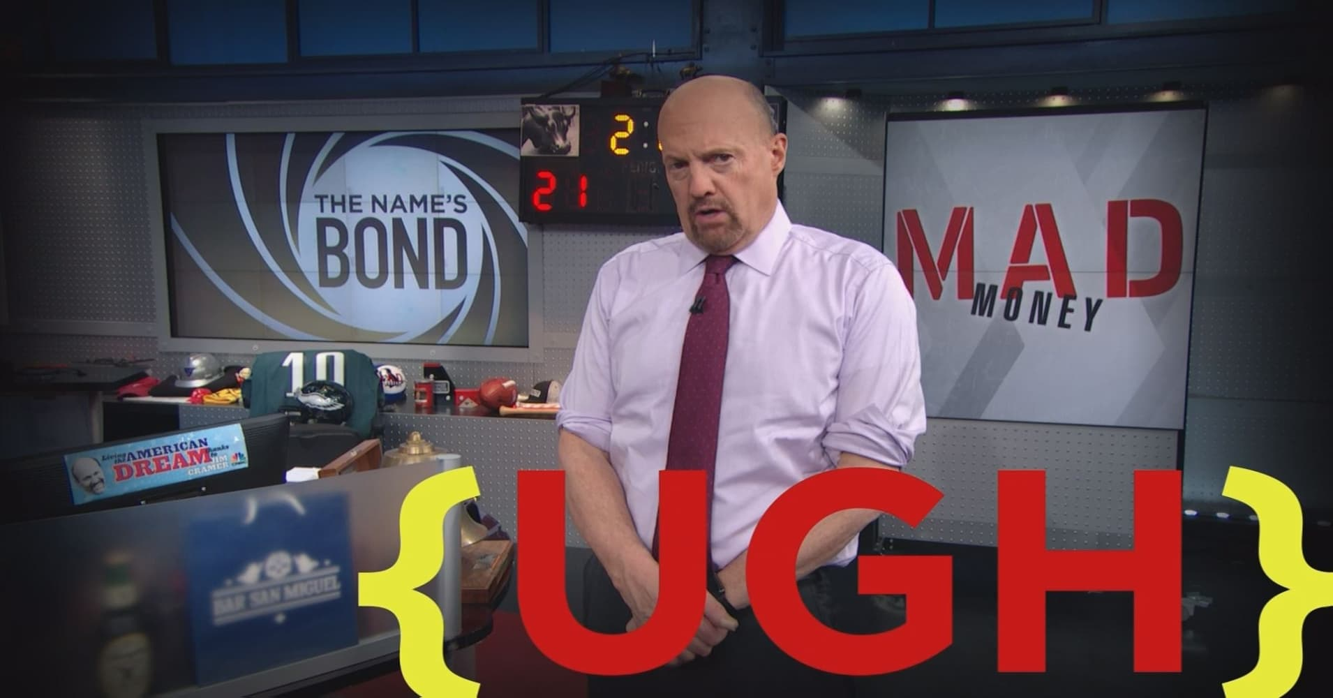cramer remix: bonds could trigger a new wave of selling next week