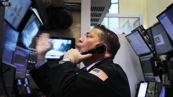 Stocks are set to soar, building on Friday's rebound after market's worst week in two years