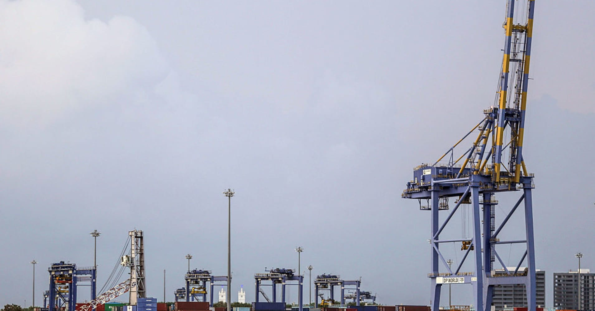 Dubai-based port operator DP World has its sights set on building out India's logistics network