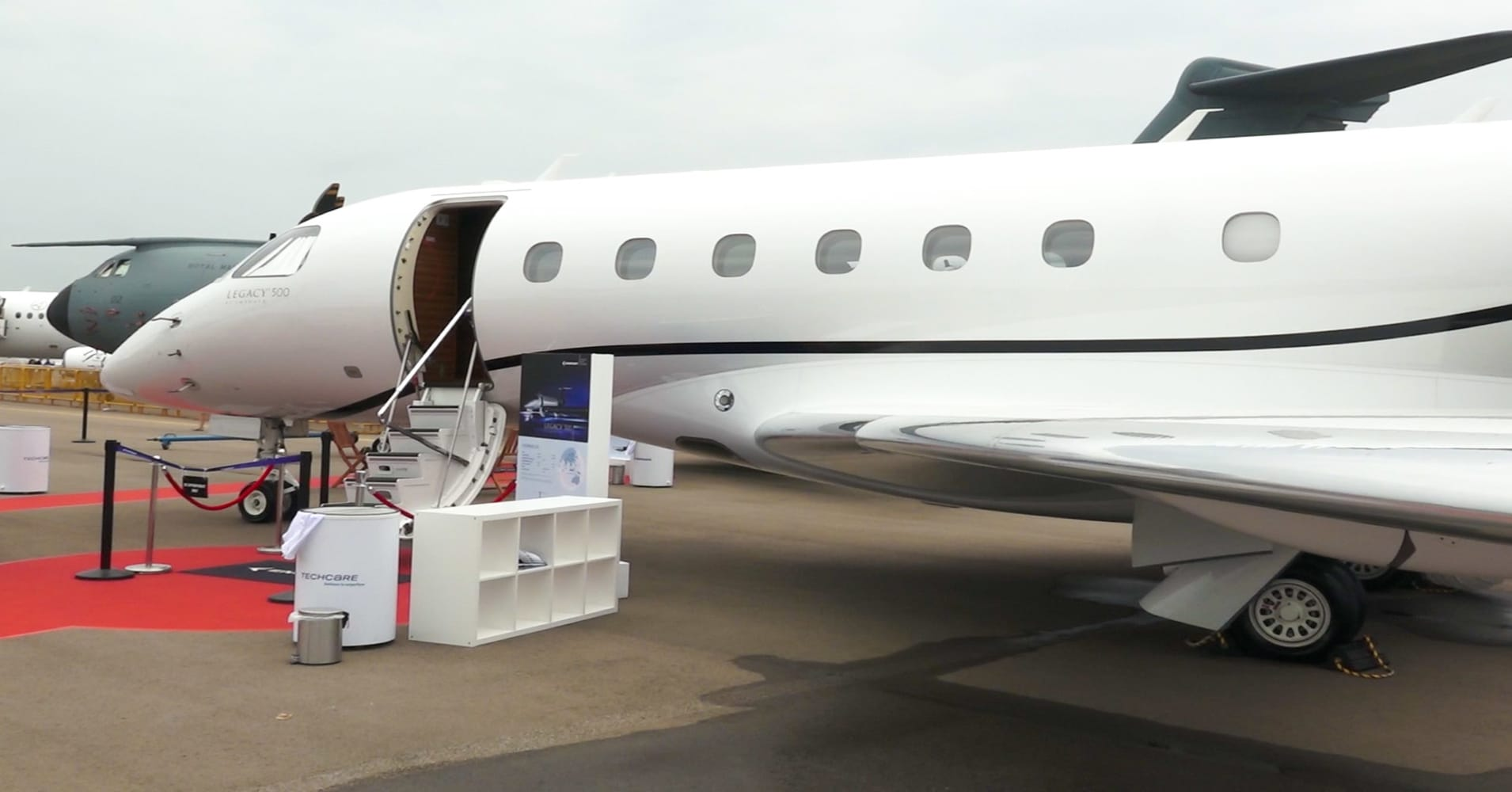 We went inside 3 private jets, starting at $10 million