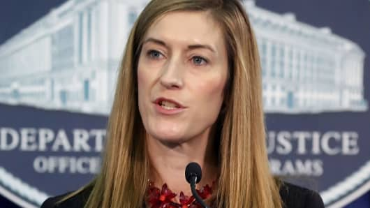 Rachel Brand, Justice Department