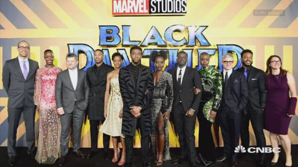 'Black Panther' on track to break records opening weekend