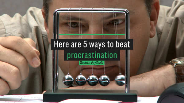 Here are 5 ways to beat procrastination