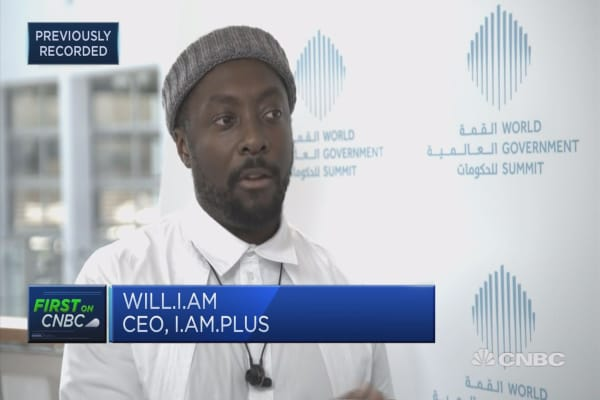 Will.i.am: Every problem needs a new tool
