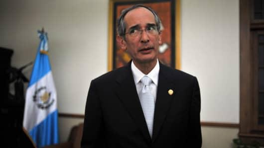 Guatemala's former President Alvaro Colom