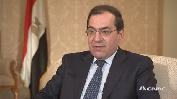 Egyptian petroleum minister: Energy's security and stability is key