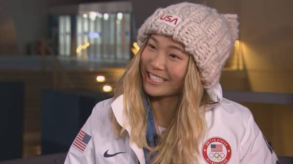 Olympian Chloe Kim talks Twitter, sponsorships