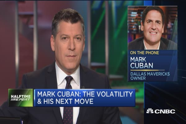 Mark Cuban breaks down the trades he made on last week's sell-off