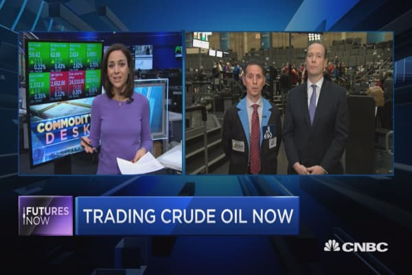 Crude is in a correction, but one trader says now