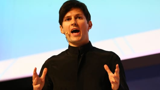 Telegram founder and CEO Pavel Durov