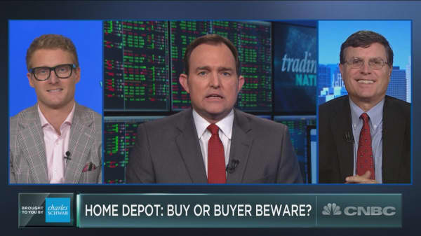 Dow stock Home Depot is getting beat up. Here's why you should buy