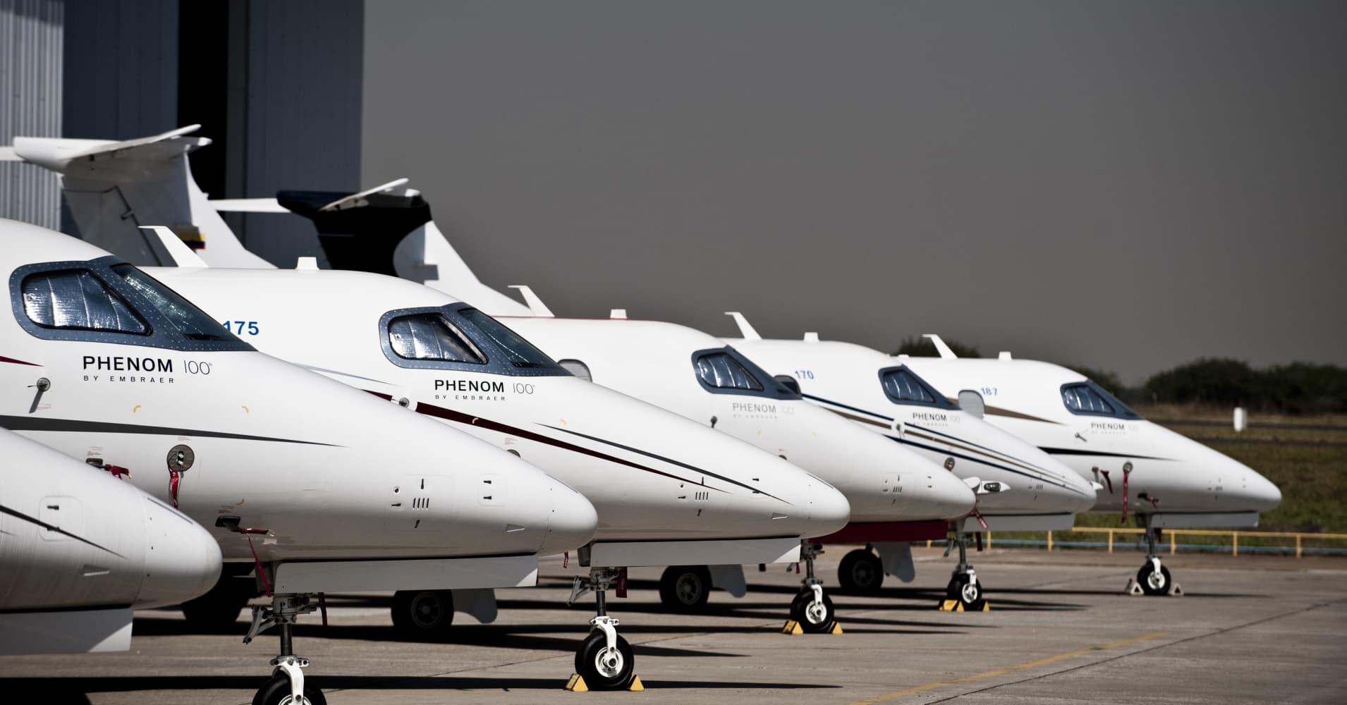 Here's what money can buy in the world of private jets