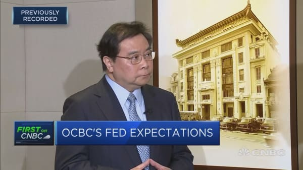 Fed rate hikes should be gradual and signaled: OCBC CEO