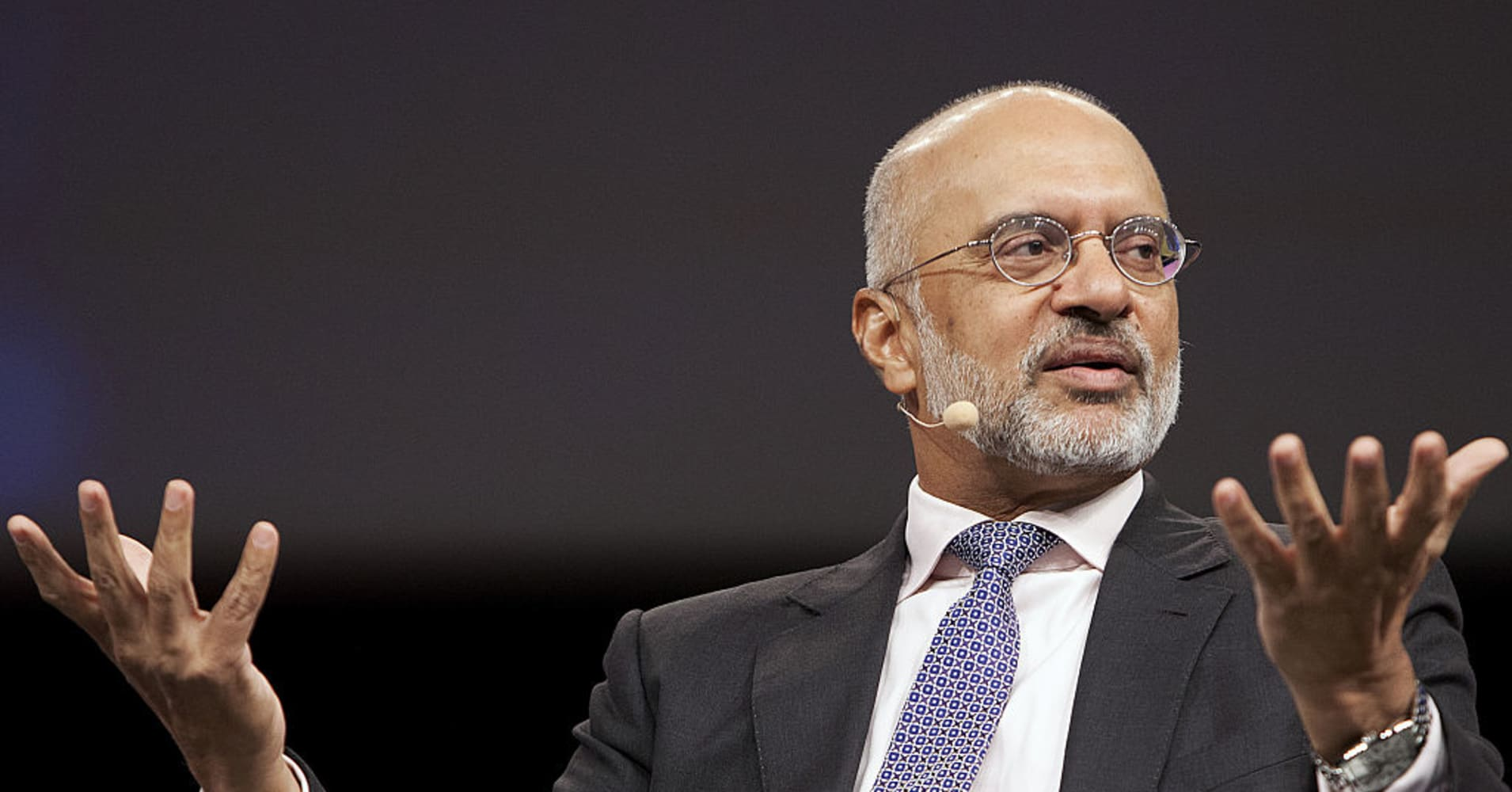 Piyush Gupta, CEO of DBS