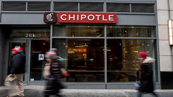 Chipotle soars after new CEO is announced