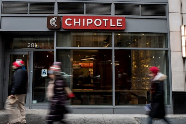 Chipotle soars after fresh CEO is presented