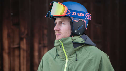 Two-time Olympic gold medalist, five-time World Champ, and Shred co-founder Ted Ligety.