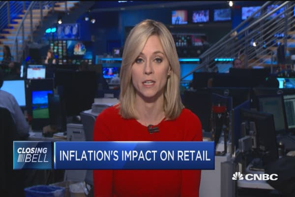 Inflation's impact on retail