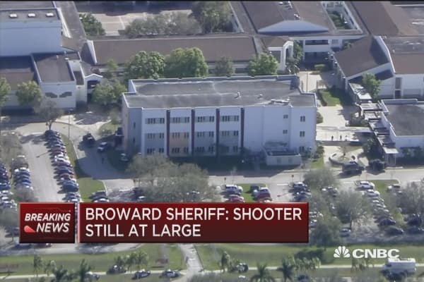 Shooter collected at astronomical: Broward Sheriff