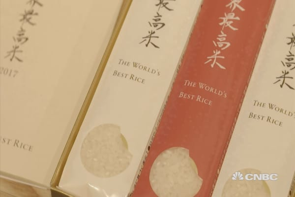 The world's most expensive rice