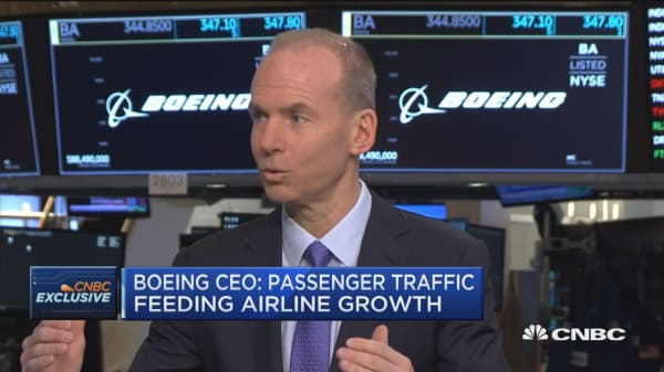 Boeing CEO: Will build over 900 planes a year by the end of the decade