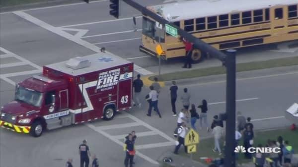 Florida massacre marks the 18th U.S. school shooting in 2018
