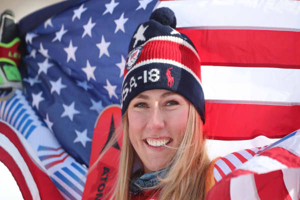 Mikaela Shiffrin shares advice on how to pursue your dreams