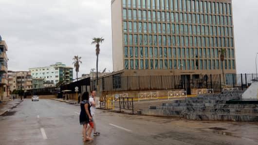Brain injuries found in American staff in Cuba
