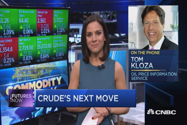 Oil's back at $60, but one strategist says the crude rally will stall