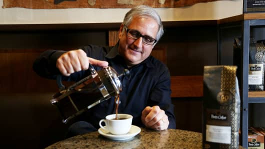 Peets Coffee president and CEO Dave Burwick.