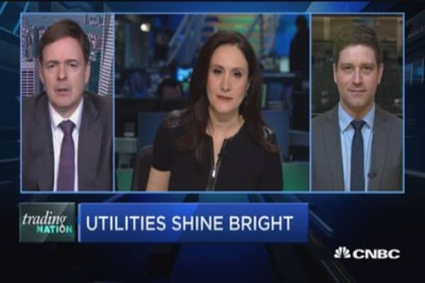 Trading Nation: Utilities shine bright