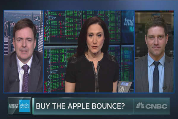 Apple is having its best week in over a year. But should you trust the bounce?