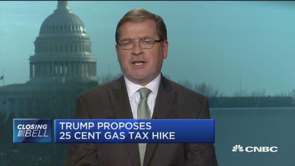 President will not support the massive cash grab of a gas tax: Americans for Tax Reform