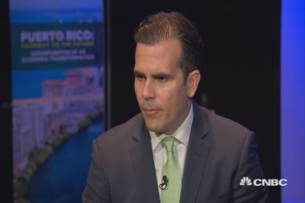Full interview with Puerto Rico Gov. Ricardo Rossello on island's new fiscal plan