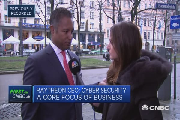 Image result for Greatest security threats today come from cyberattacks, Raytheon International CEO says